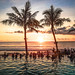 Sunset at Potato Head Pool - Seminyak Bali