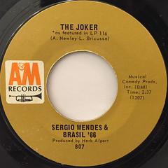 SERGIO MENDES & BRAZIL '66:MAS QUE NADA(LABEL SIDE-B)