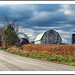 A Fine Old Michigan Farm, With One Red Barn by sjb4photos
