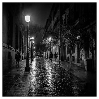 madrid, calle de las huertas