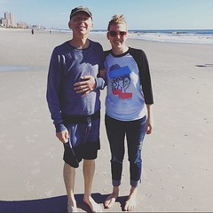 Thanks to @bthompson89 for taking her free #regretdieshard raglan to the beach. These shirts are now back in stock and available in our web store! Order one of your own and #beawitness #wearashirt #postapic #endabortion #Abort73