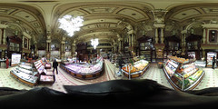 Eliseevskiy store interior, Moscow. Fruits.