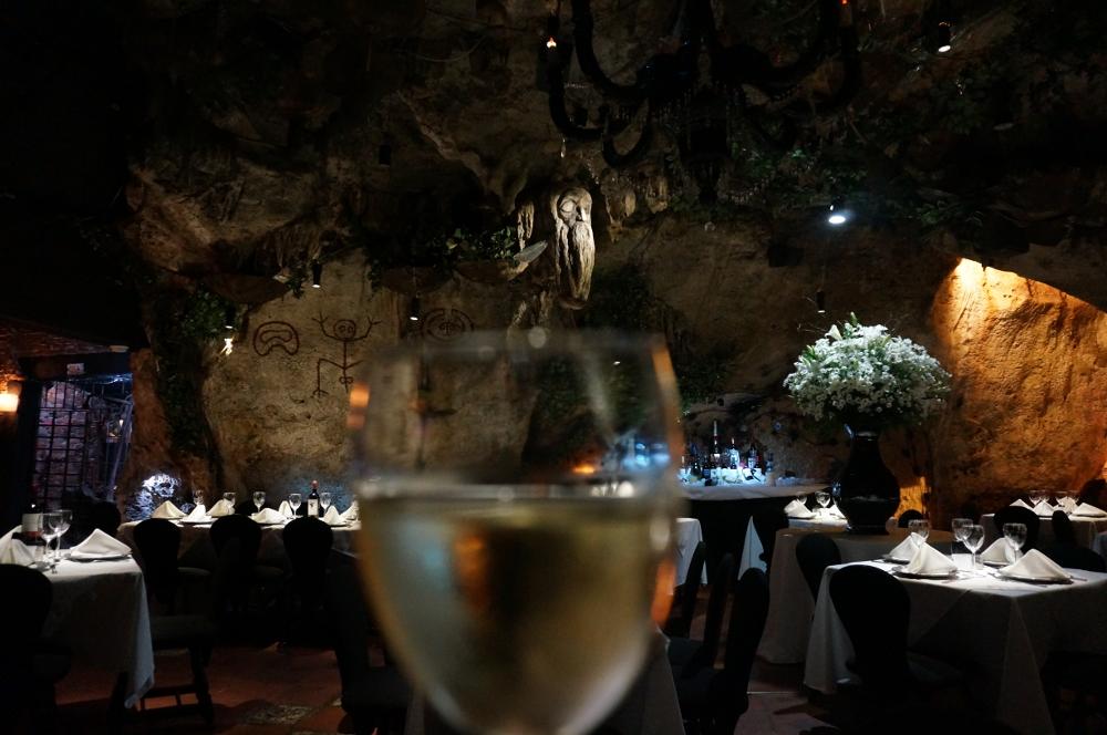 Romantic Pirates Cave in the Caribbean