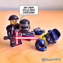 #LEGO_Galaxy_Patrol #LEGO #StarWars #LEGOstarWars #TFA #TheForceAwakens #ForceAwakens #KyloRen #Costume #Carnival #Carnaval @starwars @starwarsclubve @disney @lego_group @lego @bricknetwork @brickcentral @bricksetofficial