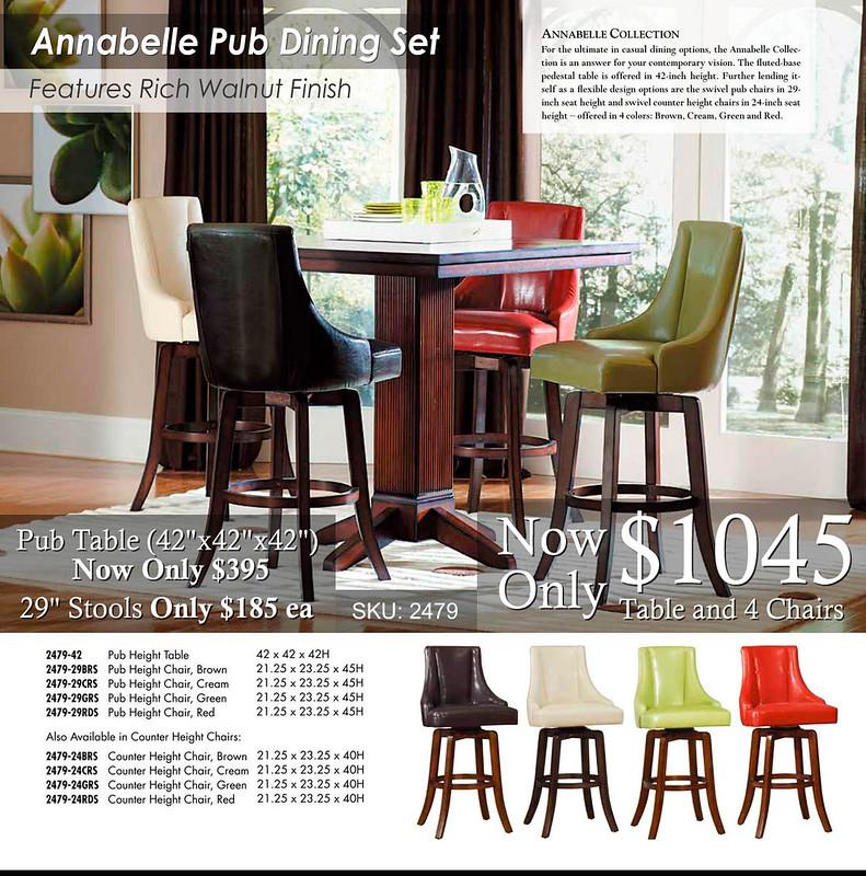 Annabelle Dining Pub Set