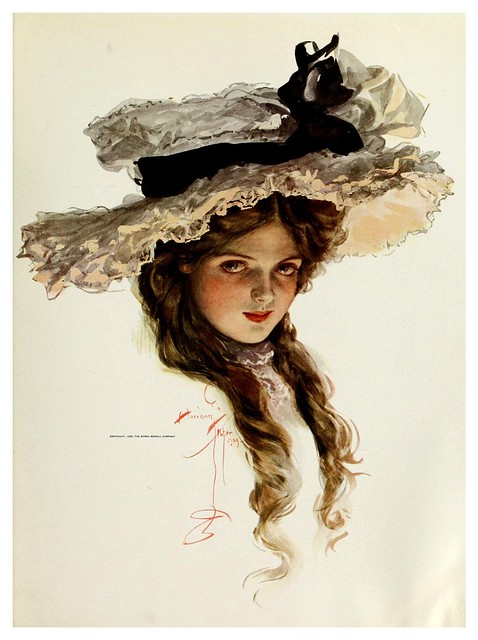 012-American beauties-1909- Harrison Fisher