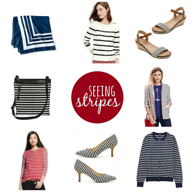 on trend seeing stripes; Style On Target