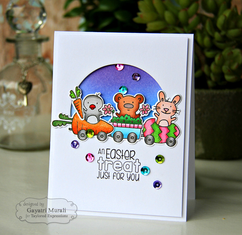 Easter treat card