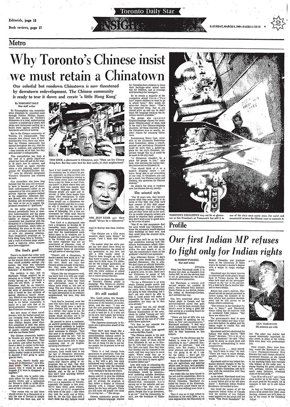 star 1969-03-08 why toronto must retain a chinatown