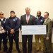 February 10, 2016. Housatonic Community College. State Rep. Charlie Stallworth and Coach Bernie Armstrong also present. Team members: (L-R) Lucas DeSousa, Jaqua Solomon, JP Mazo, Erick Cuatzo, Will Melvin.