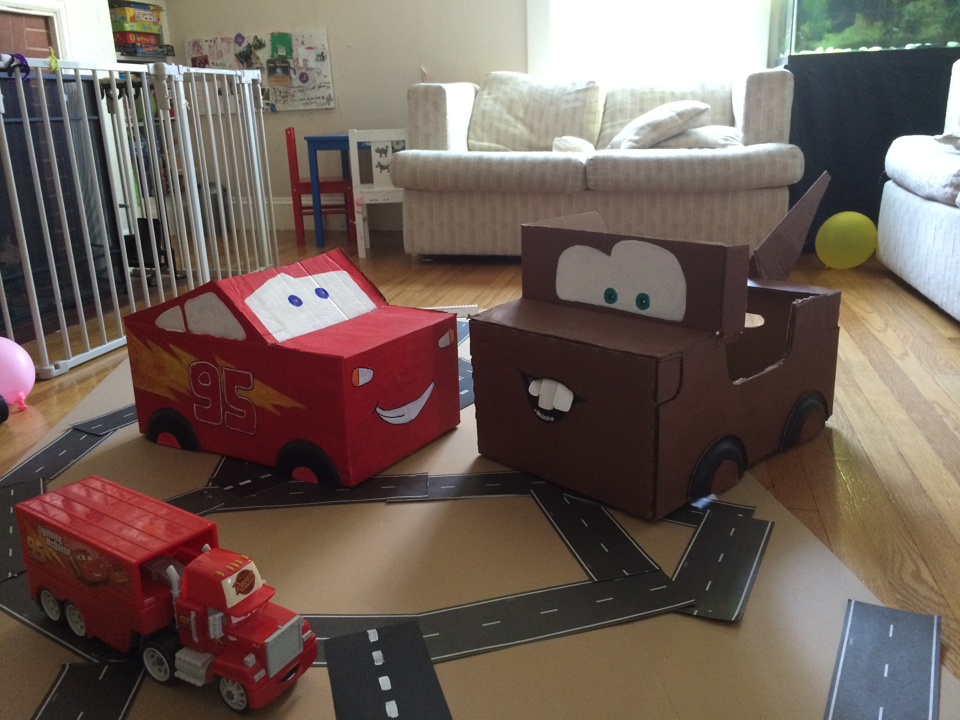 Lightning McQueen Party