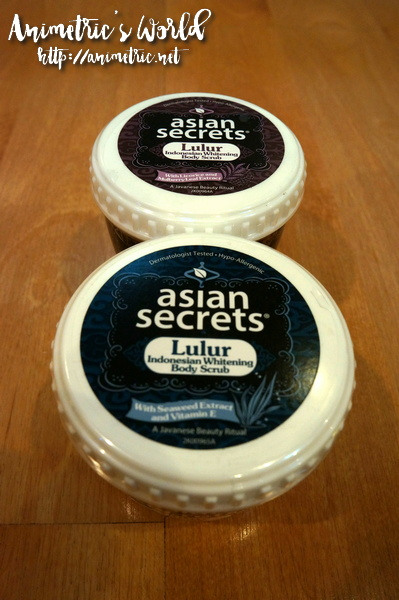 Asian Secrets Whitening Body Scrub