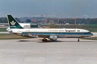 Saudia - Saudi Arabian Airlines Lockheed L-1011-385-1-15 TriStar 200 HZ-AHN
