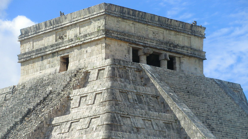 Mexico - Chichén Itzá; Kukulcán pyramid - impressive remnants of Mayan culture