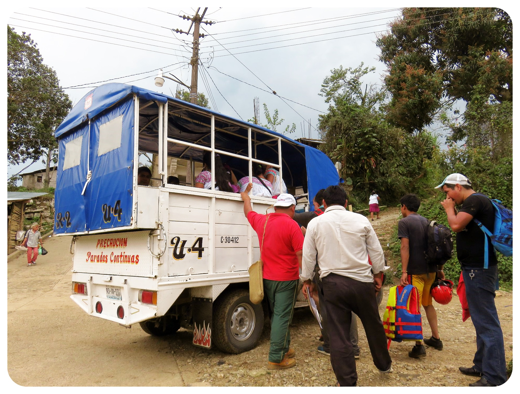 transport in cuetzalan