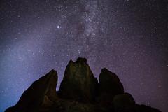 Sinfonia estelar - Roques de Garcia, Parque nacional del Teide, Canarias, España