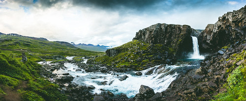 road trip travel sunset summer sky green fall nature water clouds river landscape waterfall iceland cloudy panoramic east fjords icelandic