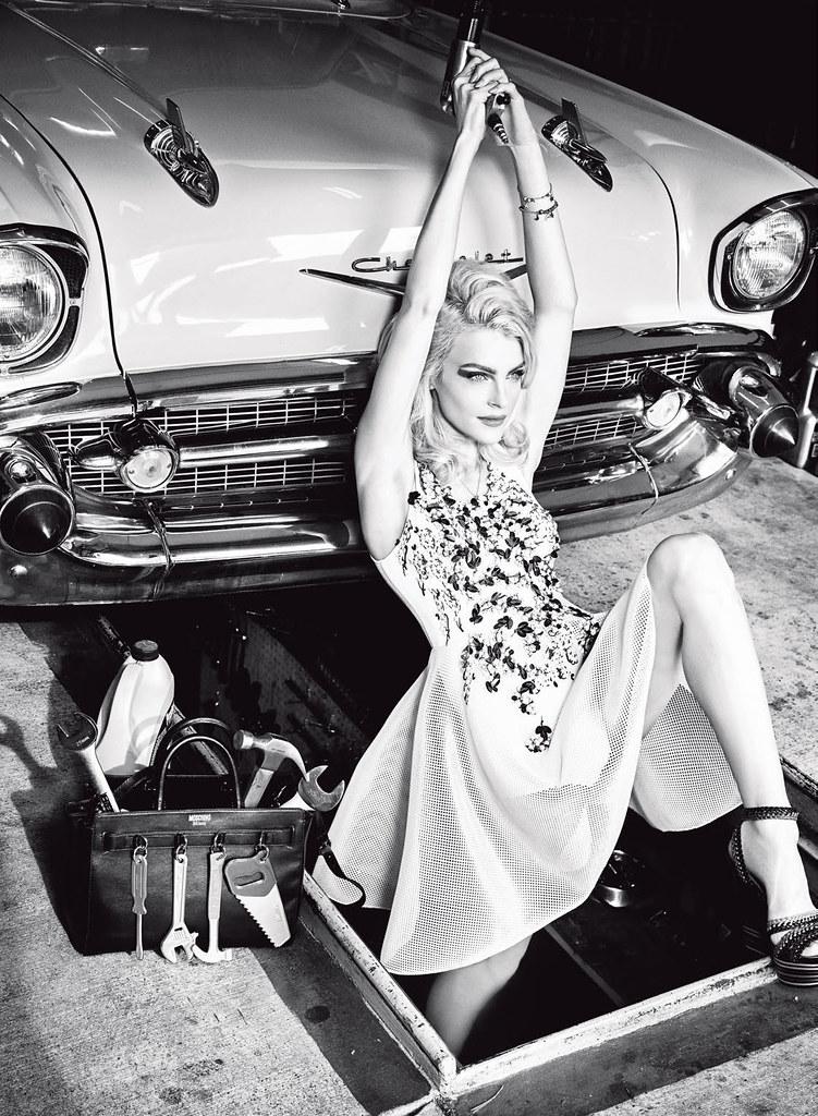 Джессика Стэм — Фотосессия для «Vogue» IT 2016 – 2