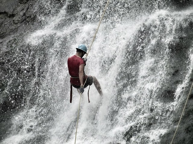 Waterfall Rappelling & Night Camping in Coorg