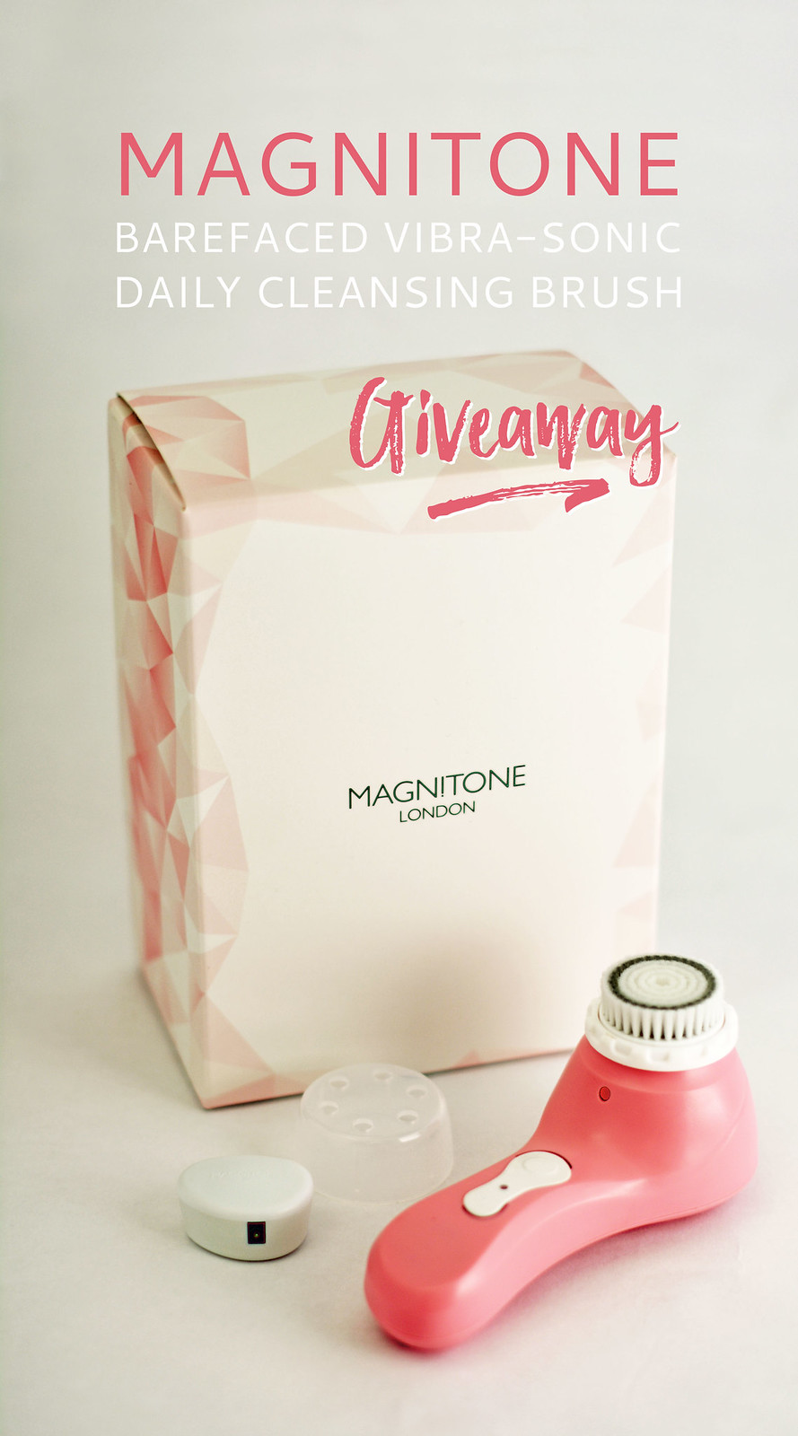 Win a Magnitone BareFaced Vibra-Sonic Daily Cleansing Brush (International Giveaway)