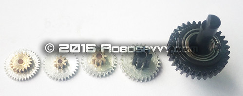 A1-16 5 metal Gears | by RoboSavvy