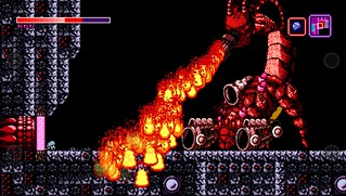Axiom Verge on PS Vita
