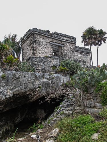 Les ruines mayas de Tulum: la petite cenote
