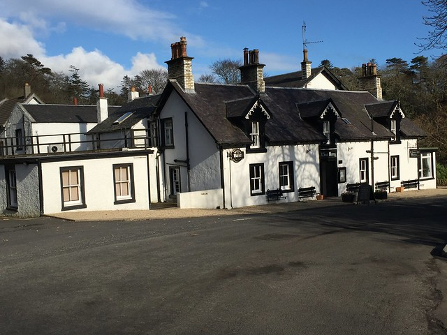The Lagg Hotel, Isle of Arran - 28-03-2016