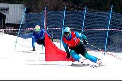 Poslení skicrossový závod sezony - Jirka Čech mistr, Radim Palán vicemistr!