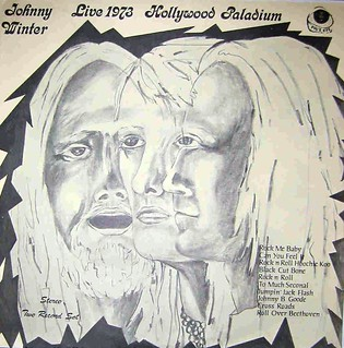 Johnny Winter's Live 1973 Hollywood Palladium
