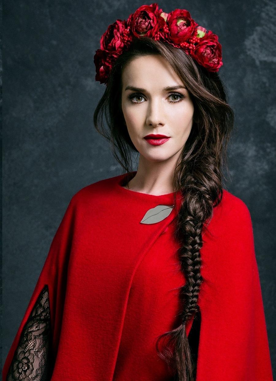 Красивая прическа Наталии Орейро