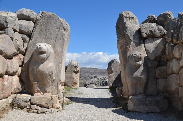 Hattusa, the capital of the Hittite Empire in the late Bronze Age, Boğazkale, Turkey