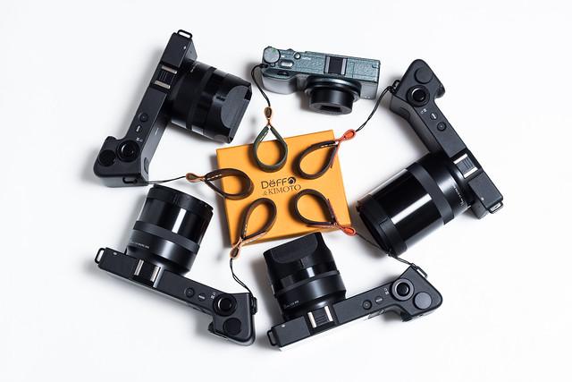 20160404_05_Deff&KIMOTO の Compact Camera Finger Strap をまとめ買い。