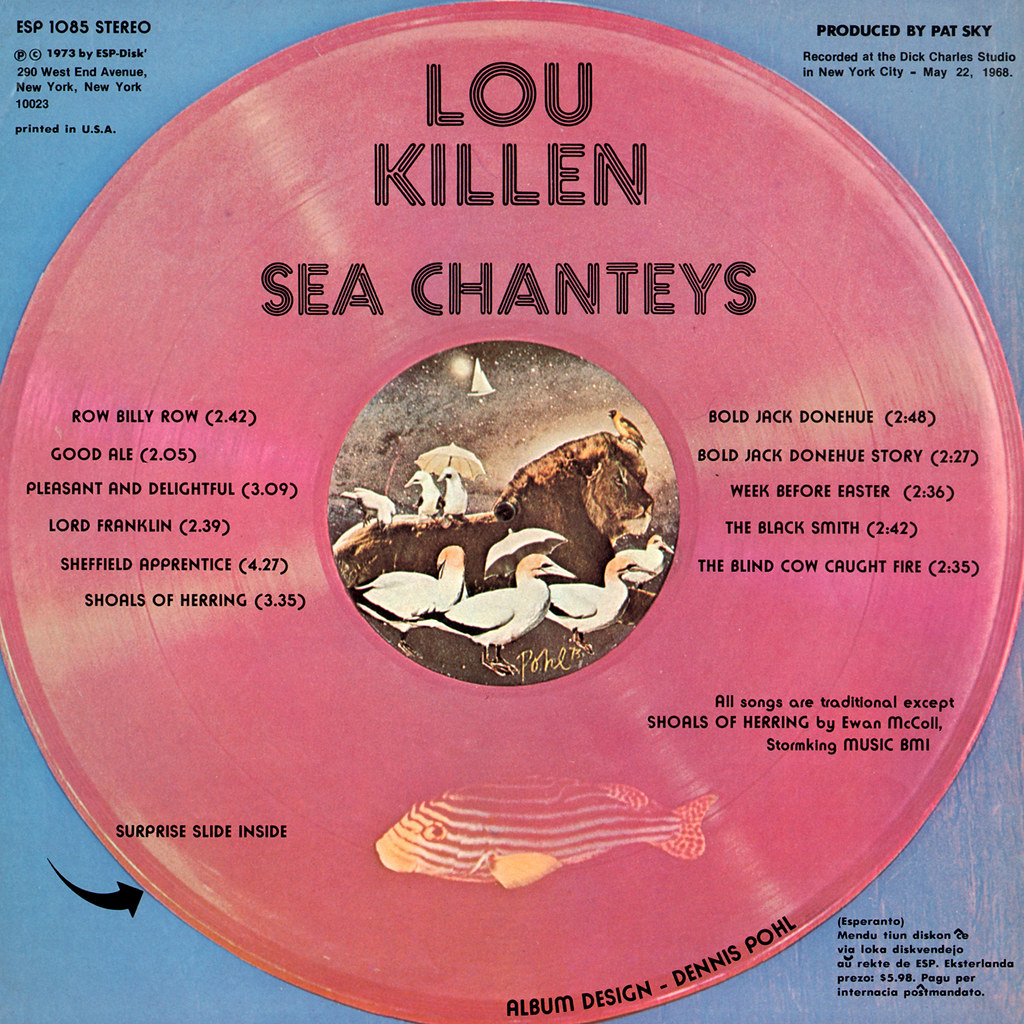 Louis Killen - Sea Chanteys