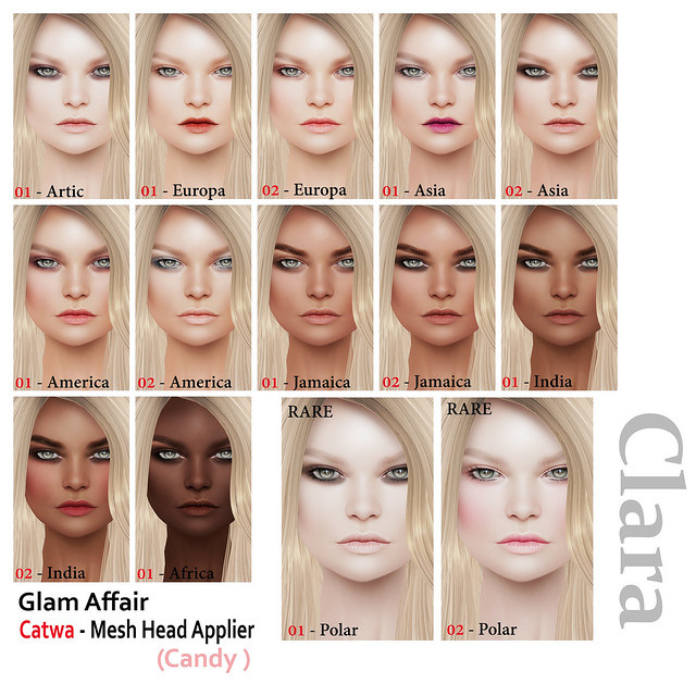 Glam Affair - Clara Catwa Applier ( Candy Head )