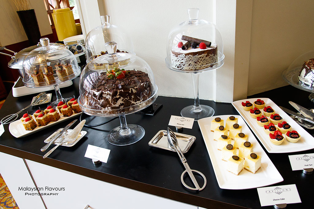 Classic Afternoon Tea Sheraton Imperial KL dessert