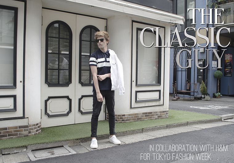 The Classic Guy collaboration with HM for Tokyo Fashion Week