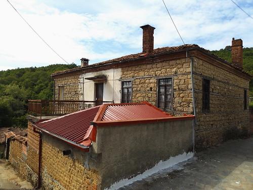 architecture αρχιτεκτονική πέτρα σπίτια ανθηρό ορεινήκαστοριά