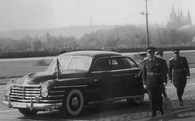 Представительский седан Skoda VOS. 1950 - 1952 годы