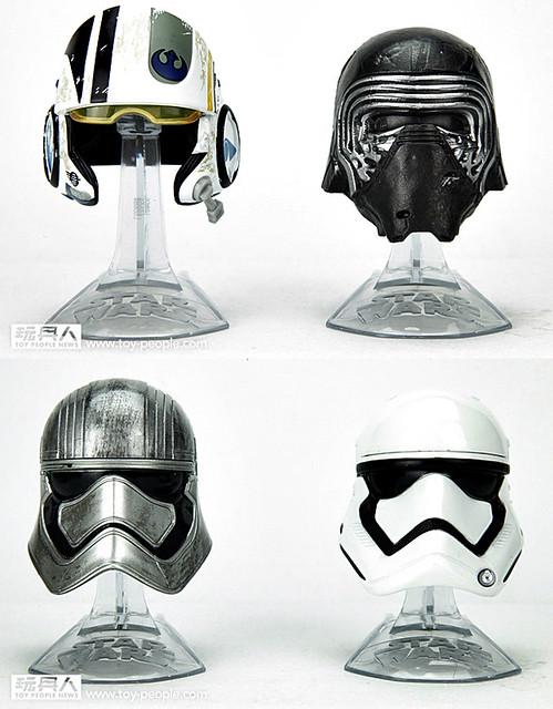 《星際大戰:原力覺醒》黑標系列全新合金頭盔Titanium Series Helmets & 6吋芮情境組Rey(Starkiller Base)