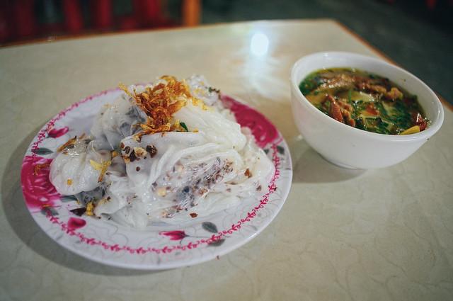 Bánh cuốn in Sapa - a delicious food of Vienam