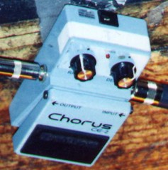The Chorus pedal used by Johnny Winter