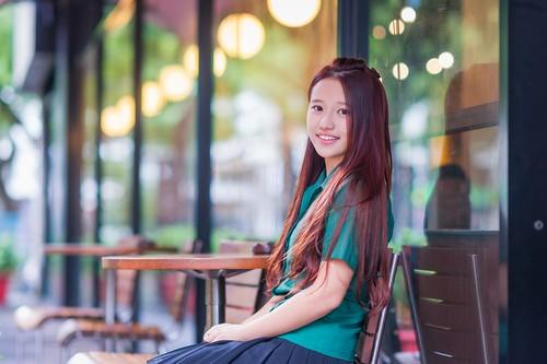 蔡瑞雪雖然已經畢業,但在學弟妹心中仍是女神級的學姐。