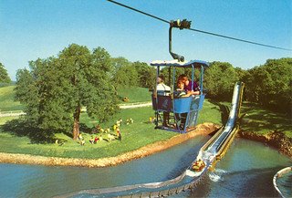 Cable Cars and Log Flume