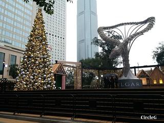 中環 CENTRAL HONGKONG 皇后像廣場 2015 CIRCLEG 聖誕裝飾 (2)