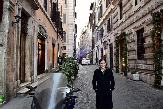Italian streets at Christmas