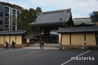 建長寺入り口