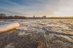 Ice Floes | Sunset | Kaunas