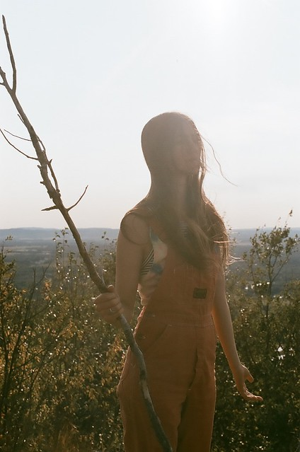 "On Set of the Weyes Blood music video, ""In the Beginning"""