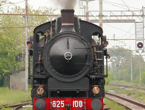 Locomotiva FS 65 100 a Palazzolo
